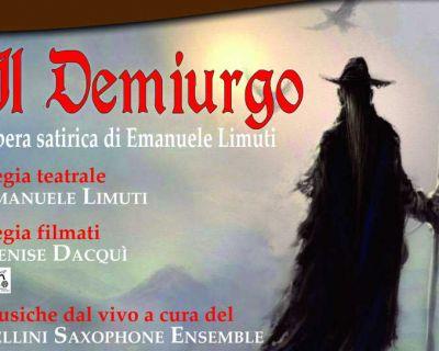 """In distribuzione il DVD della rappresentazione """"Il Demiurgo"""""""